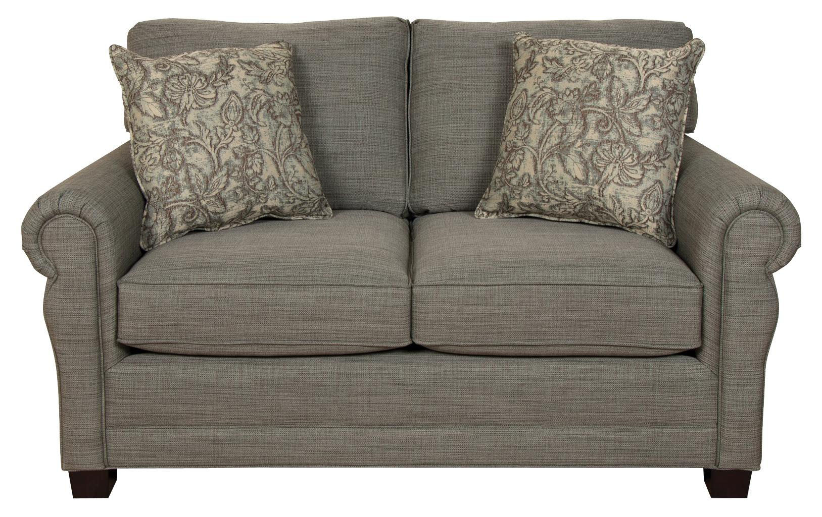 England Green Two Cushion Loveseat - Item Number: 6936