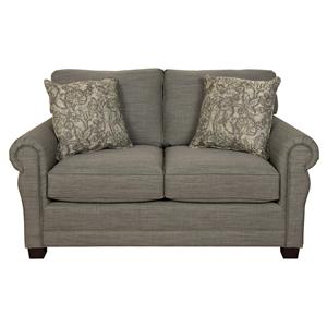 England Green Two Cushion Loveseat