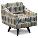 England Henley Swivel Chair - Item Number: 3350-69-Modern-Greystone
