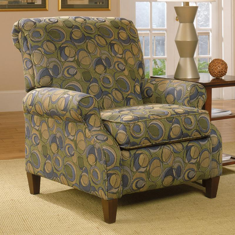 England Highland View Contemporary High Leg Recliner With