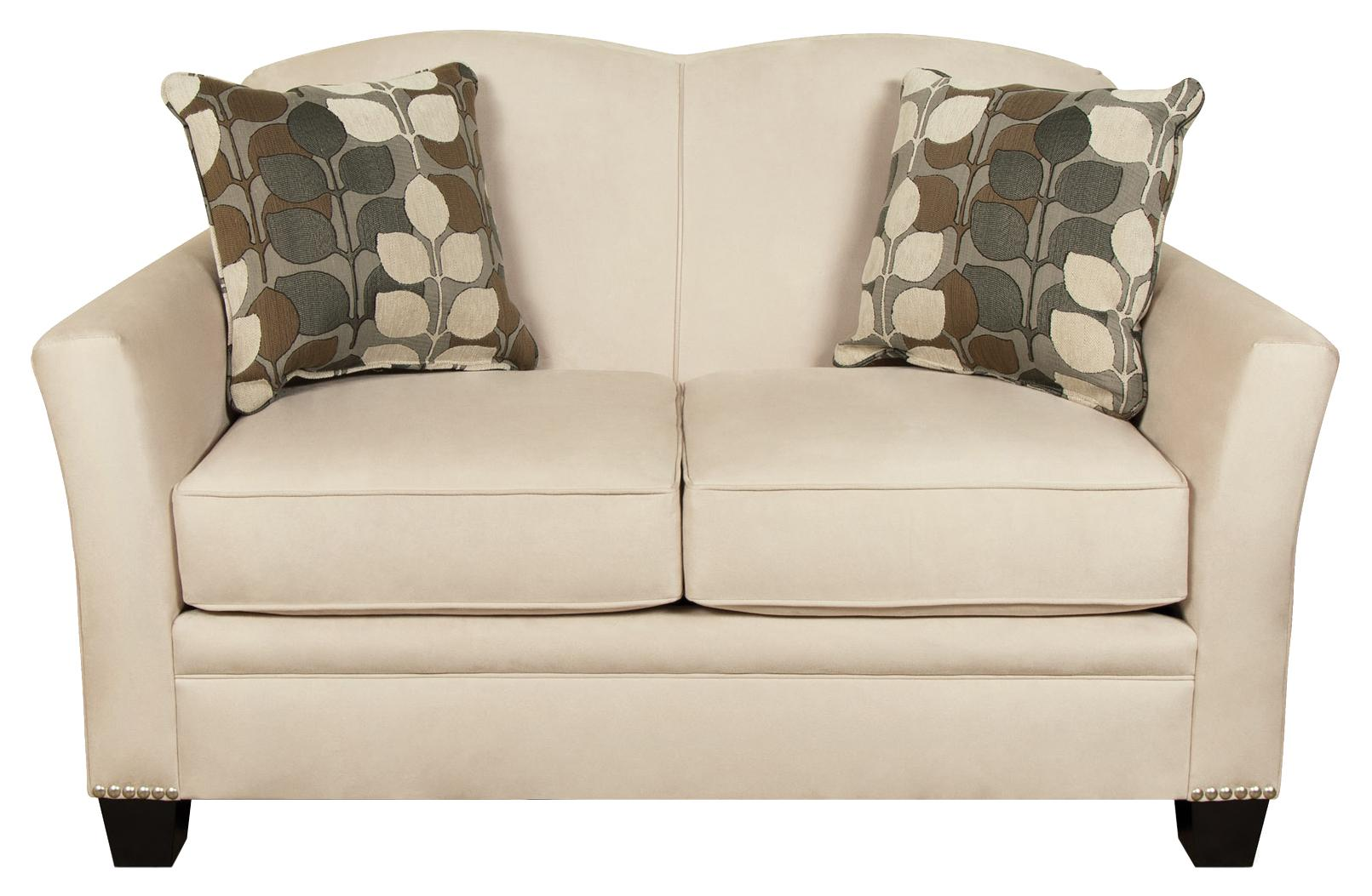 England Hilleary Loveseat with Nailheads - Item Number: 5036N