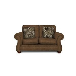 England Jeremie Two Cushion Loveseat with Nailheads