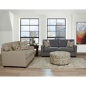 England U250 Sleepers Air Casual Styled Queen Size Sleeper Sofa for Living Rooms