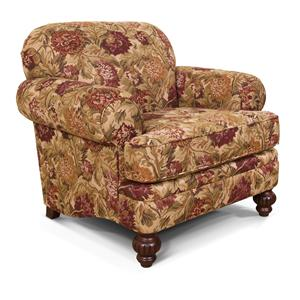 England Kathy Rolled Arm Upholstered Chair