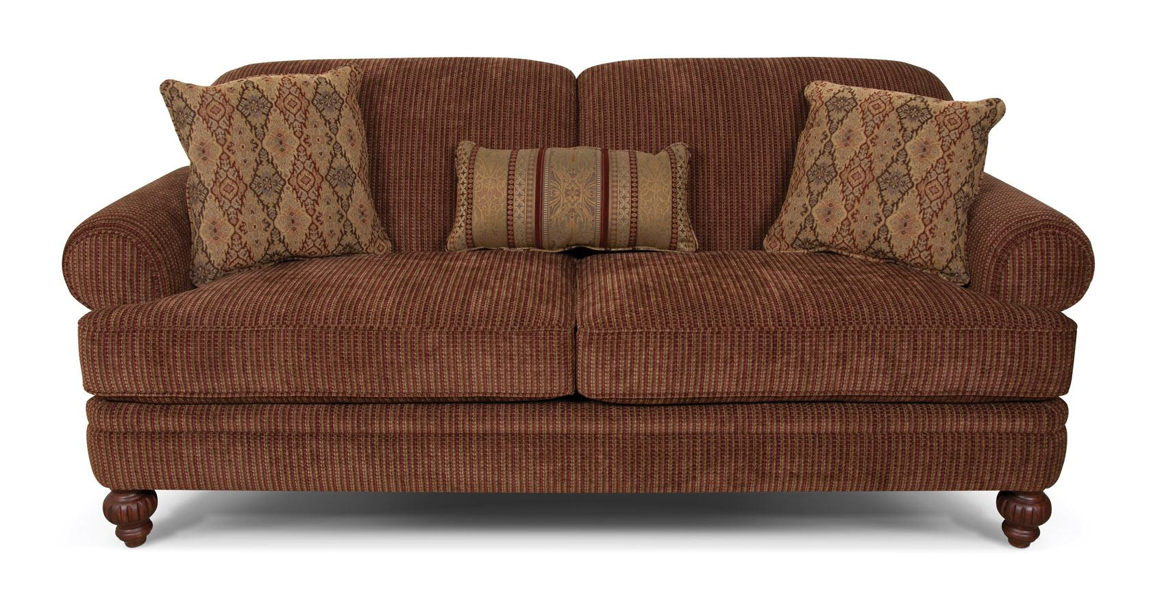 England Kathy Rolled Arm Sofa - Item Number: 2535