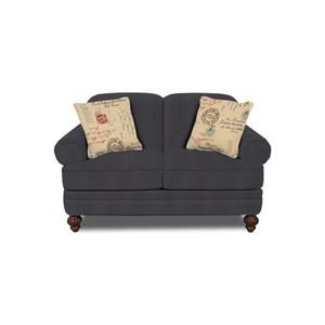 England Kathy Rolled Arm Loveseat