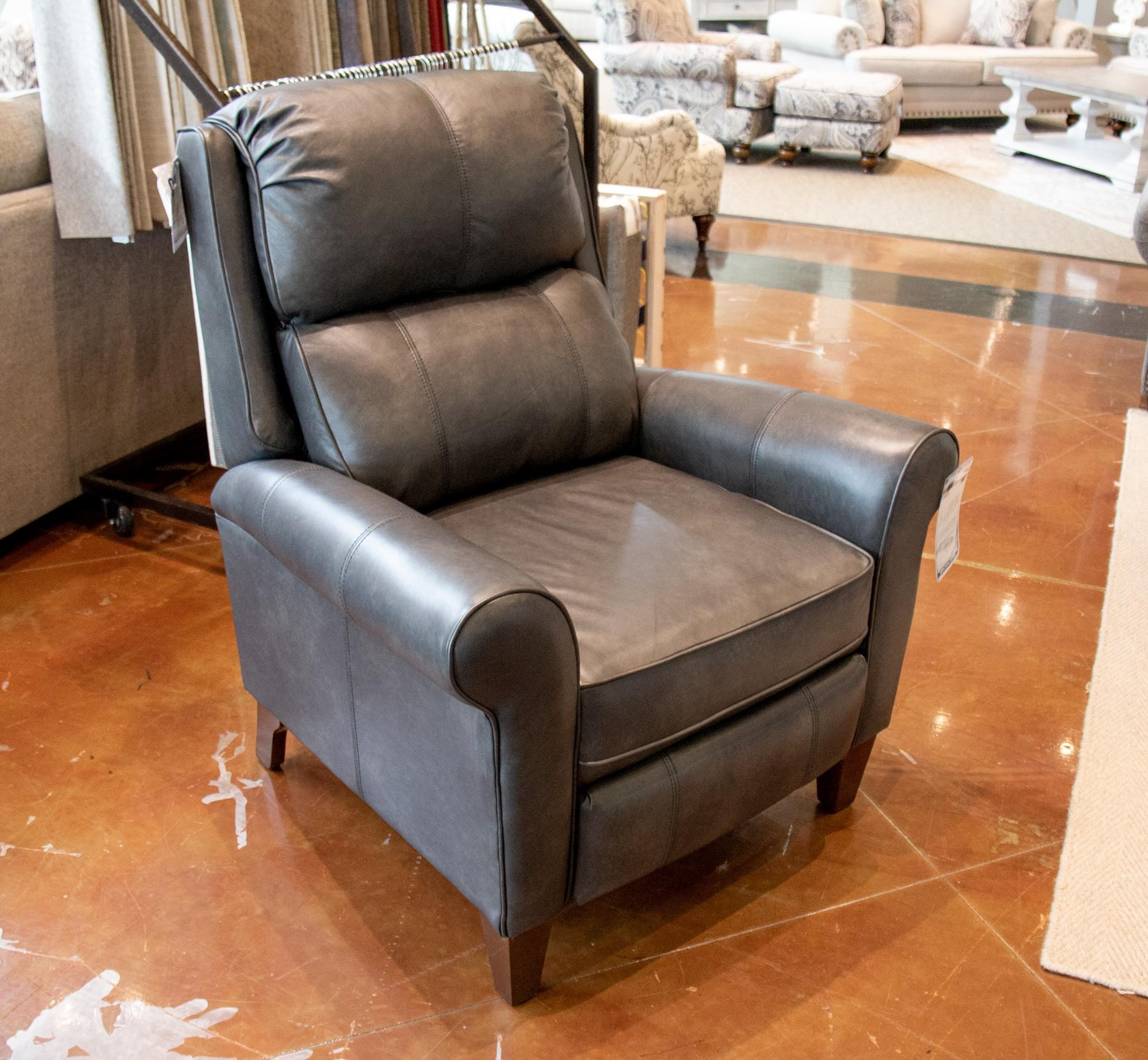 Astounding Kenzie Revelation Steel Leather Pushback Recliner Pdpeps Interior Chair Design Pdpepsorg