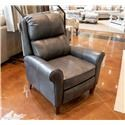 England Kenzie Revelation Steel Leather Pushback Recliner - Item Number: 3D031AL FK REVELATION-STEEL