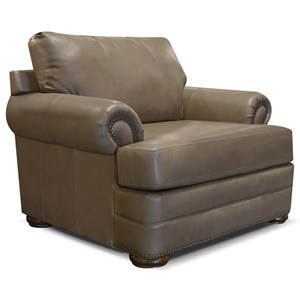 England Knox All Leather Chair and a Half