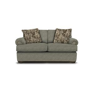 Handwoven Linen Loveseat