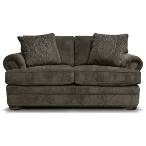 England Knox Loveseat with Nailhead Trim