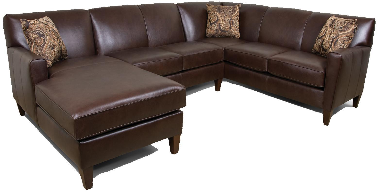 England Lynette 3-Piece Sectional Sofa - Item Number: 620006L+43L+63L