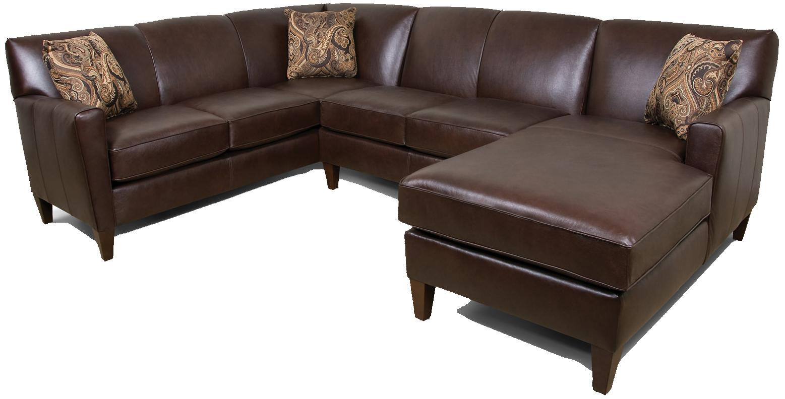 England Lynette 3-Piece Sectional Sofa - Item Number: 620064L+43L+05L