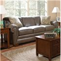 England Leah  Leather Sofa Sleeper - 1439L