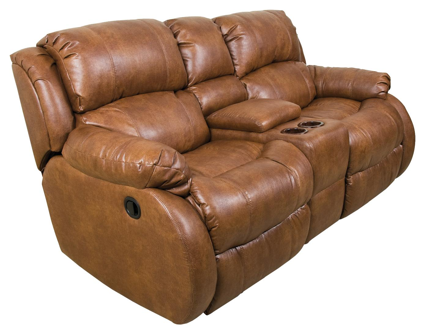 England Litton Double Rocking Reclining Loveseat With Storage Console Zak 39 S Fine Furniture