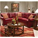 England Lochlan Leather Sectional - Item Number: 240028L+63L