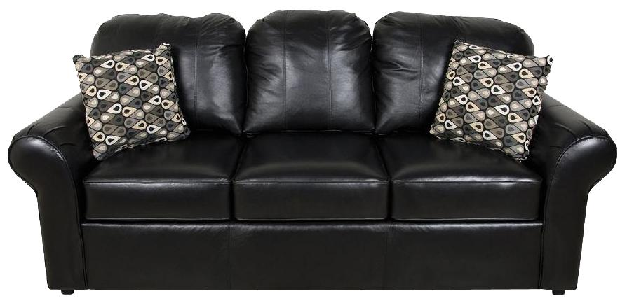 England Lochlan Leather Sofa - Item Number: 2405L