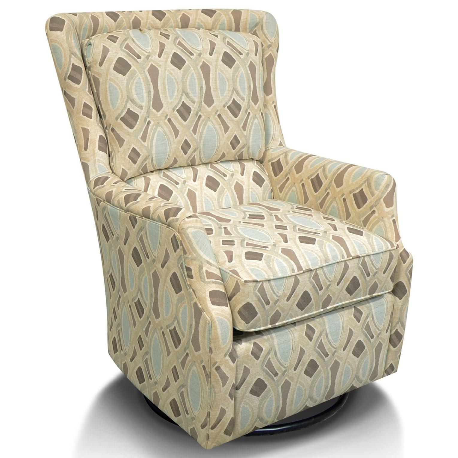 England Loren Swivel Chair Godby Home Furnishings