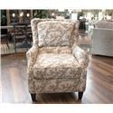 England Loren Plush Back Chair - Item Number: 2914 FK GREECE-BERBER