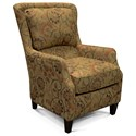 England Caboose Plush Back Chair - Item Number: 2914-Tulamore-Bayberry