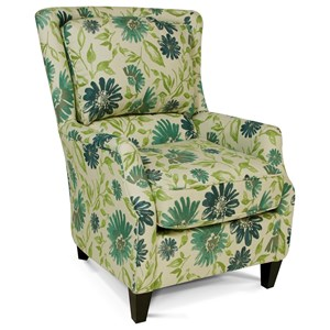England Loren Plush Back Chair