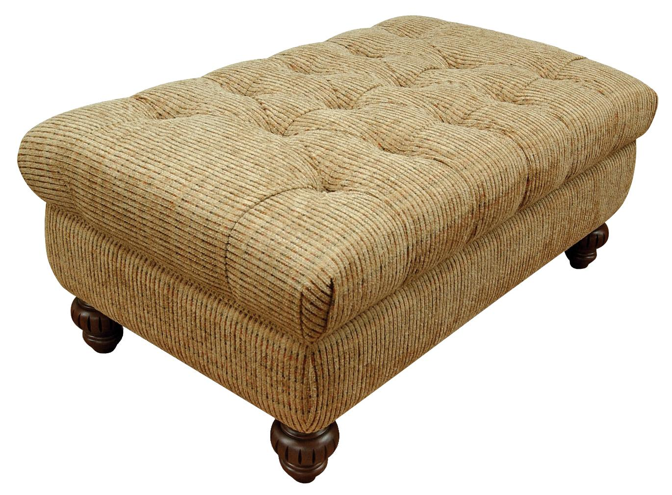 England Loudon Storage Ottoman - Item Number: 435081L