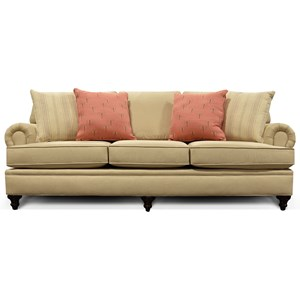 Sofa with Nailhead Trim