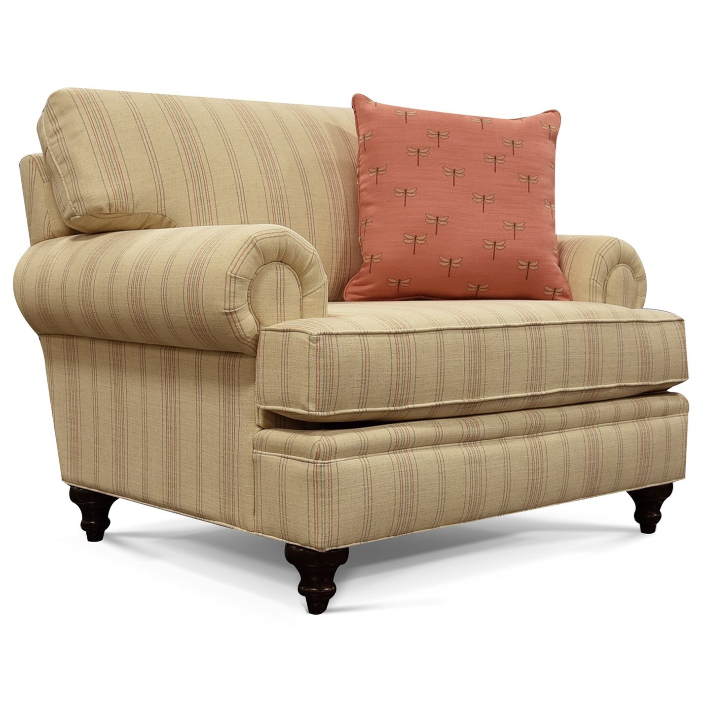 Macy Furniture Location: England Macy Traditional Chair & 1/2