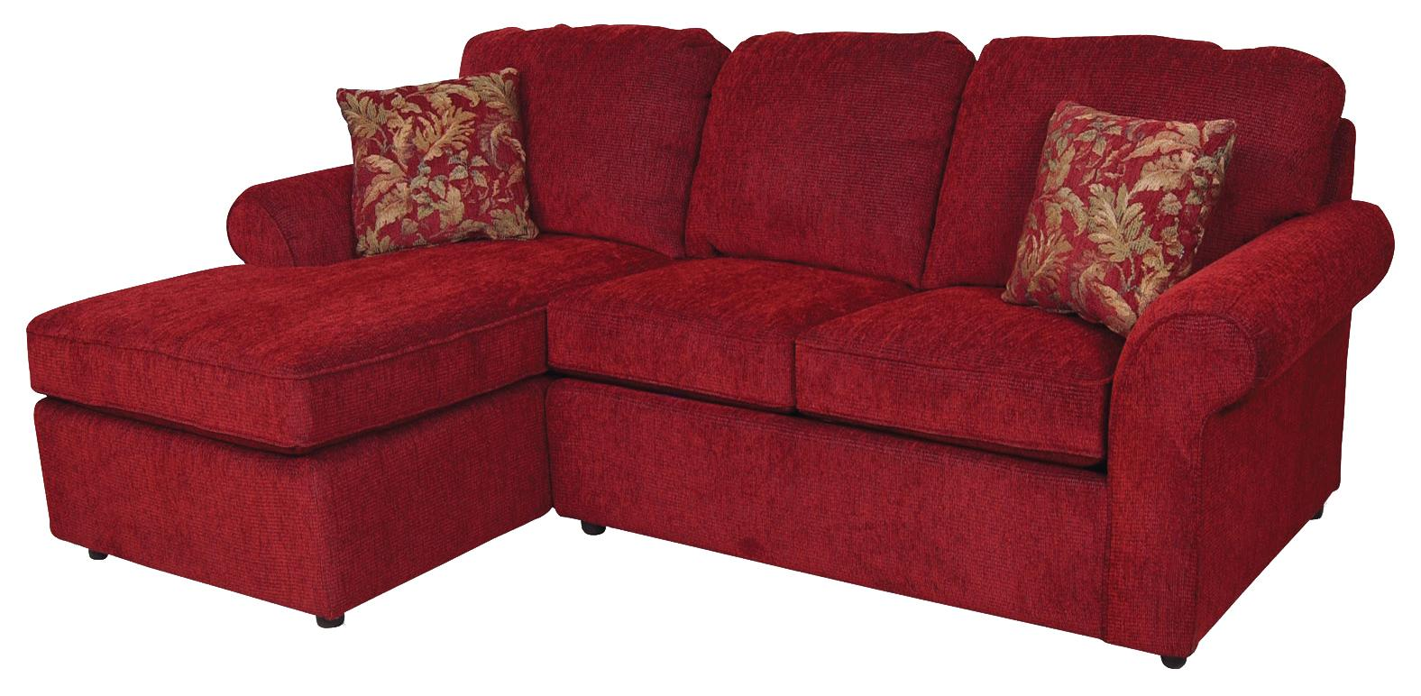 England Malibu 3 Seat Left Side Chaise Sofa Vandrie