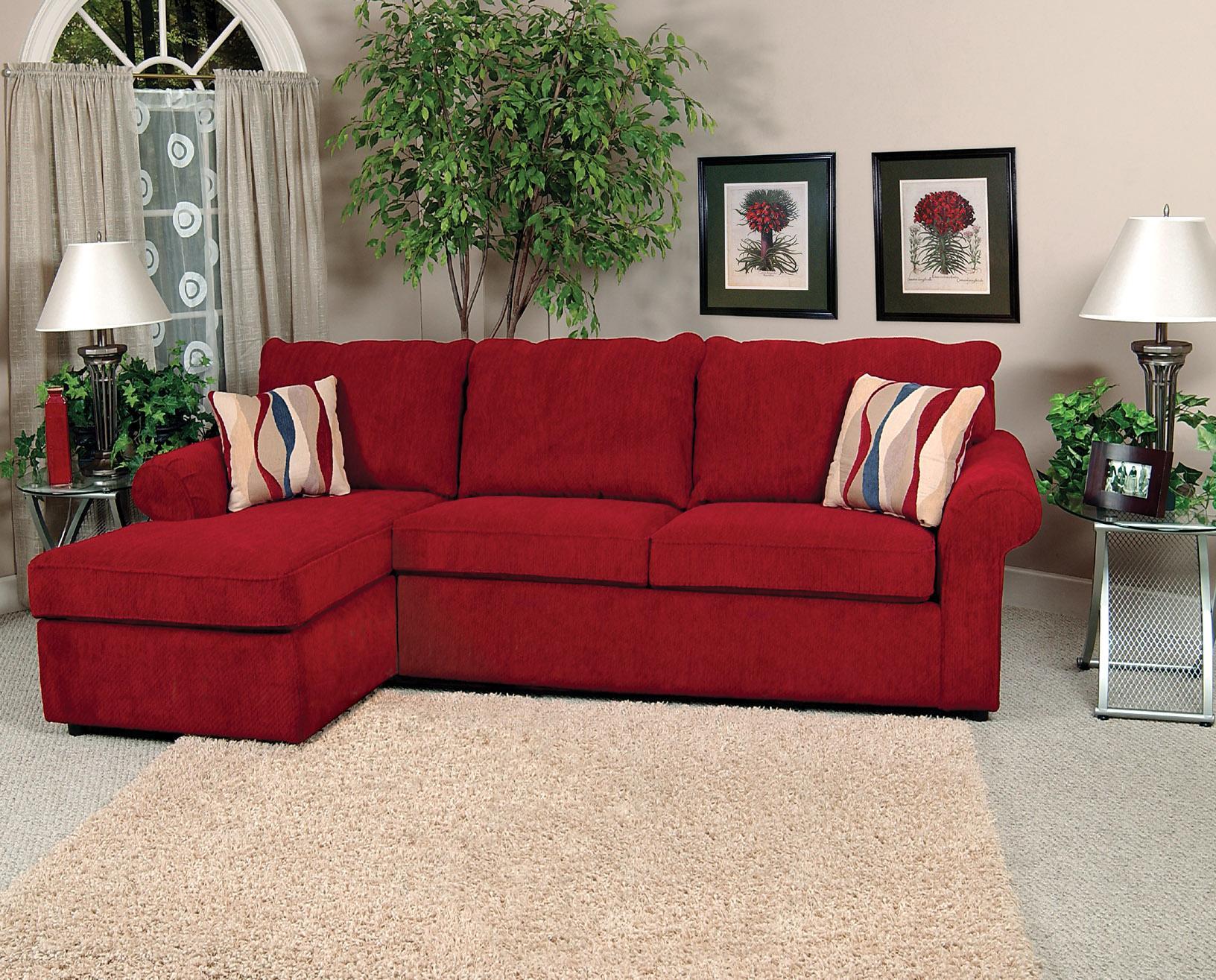 England Malibu 3 Seat Left Side Chaise Sofa Virginia