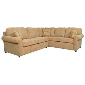 4-5 Seat Corner Sofa with <b>Sleeper</b>