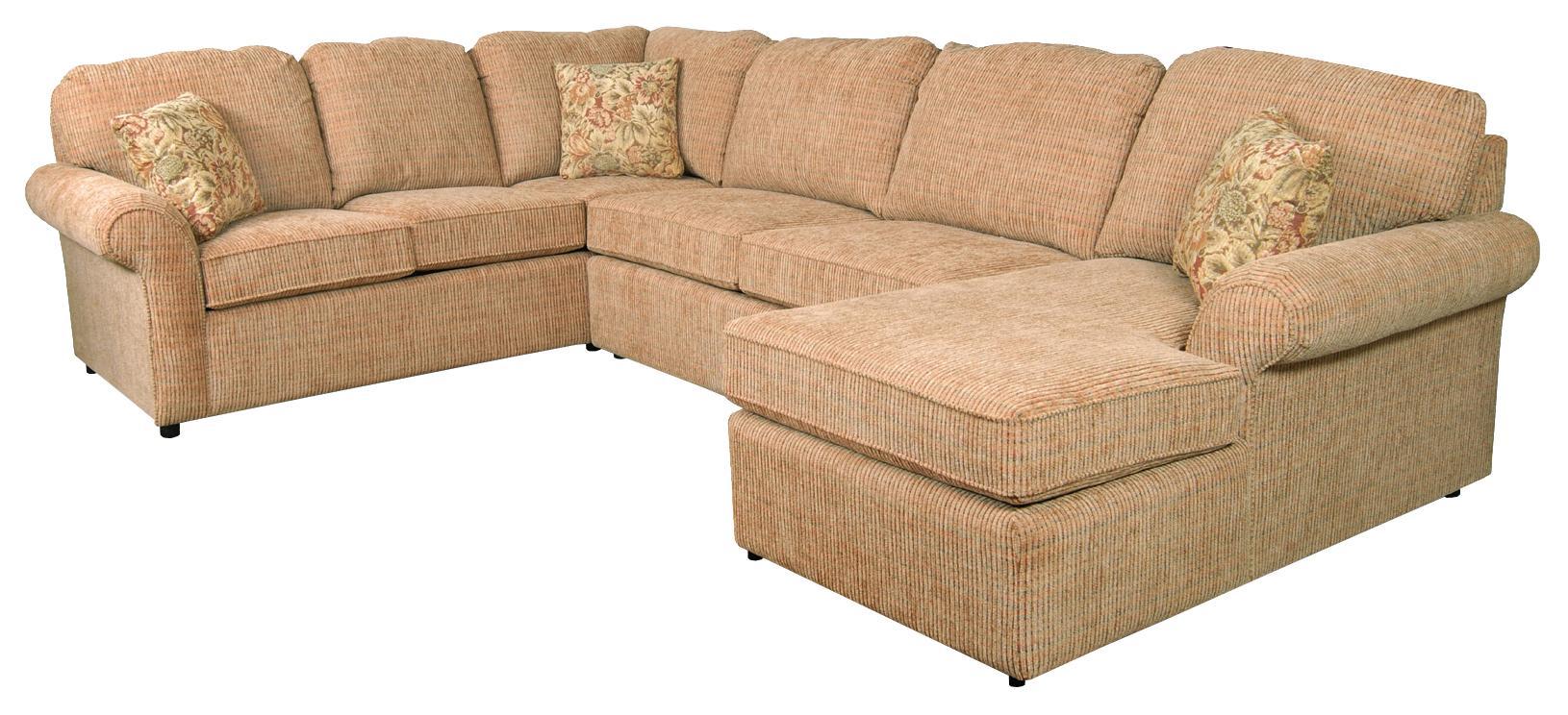 England Malibu 5-6 Seat (right side) Chaise Sectional Sofa ...