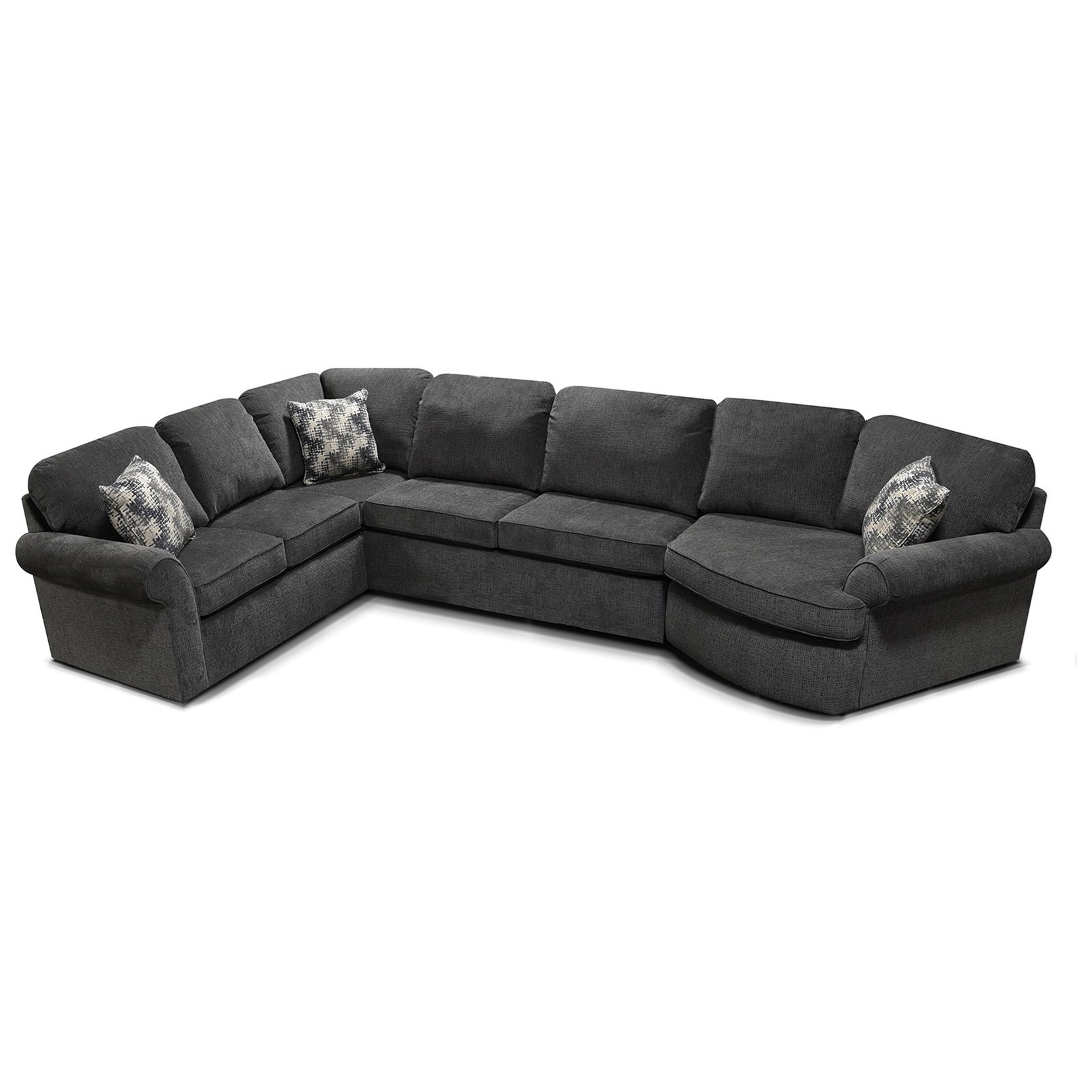 England Malibu Casual 3-Piece Sectional | A1 Furniture ...