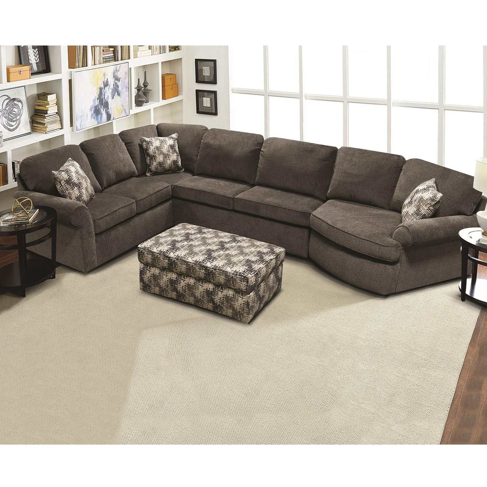 England Malibu Casual 3-Piece Sectional | Fashion ...