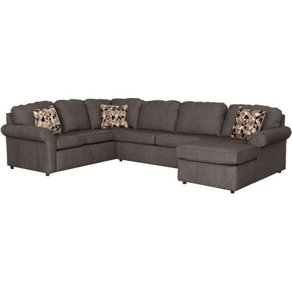 England Malibu 5-6 Seat (right side) Chaise Sectional - Item Number: 2400-64+40+05