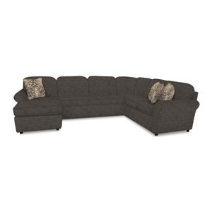 5-6 Seat (right side) Chaise Sectional