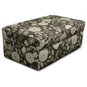 England Malibu Living Room Storage Ottoman with Casual Style