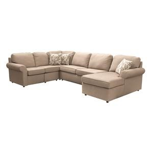 4 Piece Sectional With Power Reclining Loves