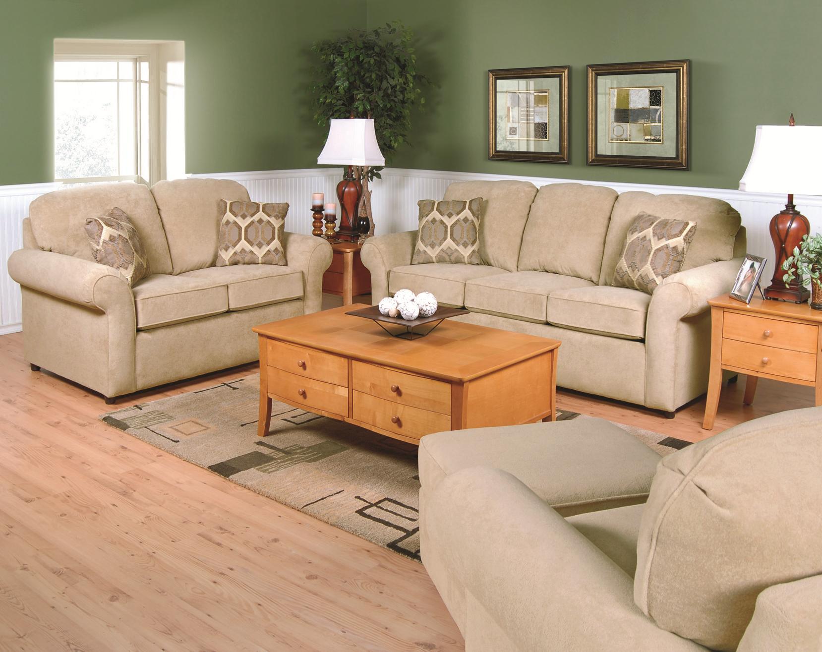 England Malibu 2405 Casual Styled Sofa for Family Rooms ...