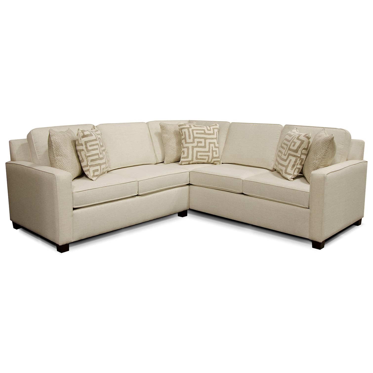 England Metromix River West Sectional Sofa With Four
