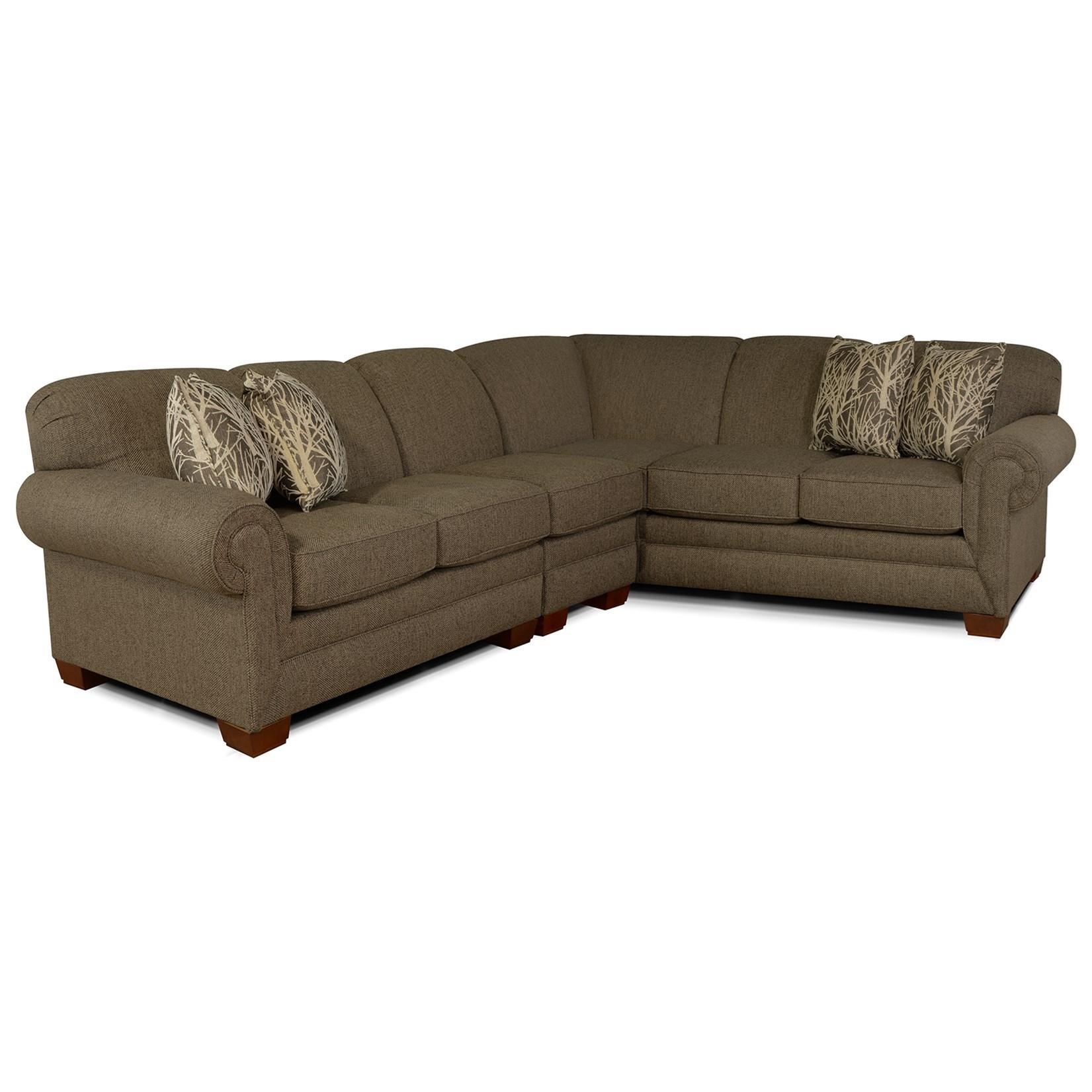 3pc Sectional Sofa