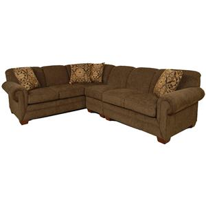 England Monroe 3pc Sectional Sofa