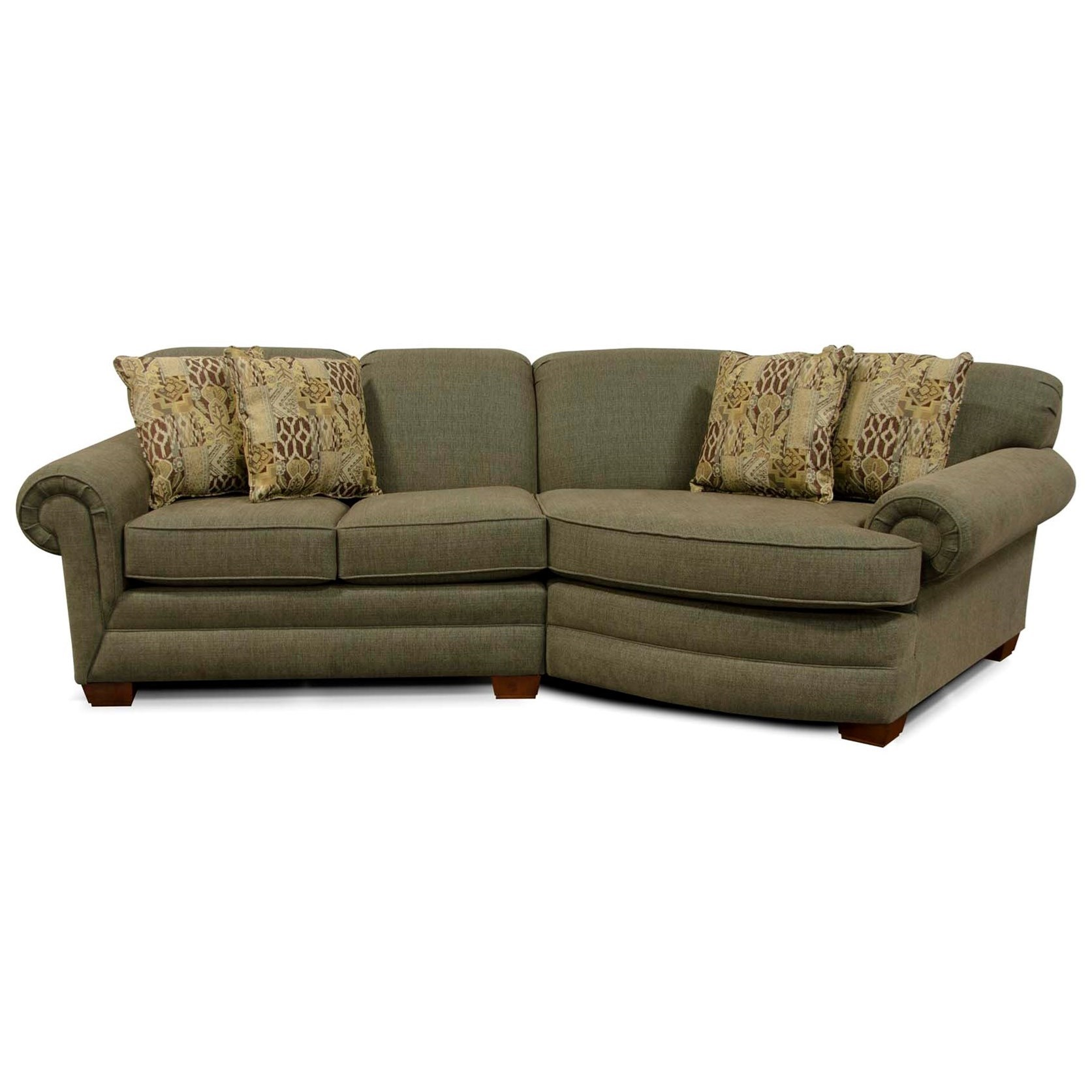 England monroe small sectional sofa boulevard home - Boston interiors clearance center ...