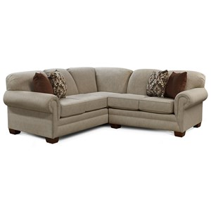 2-Piece Sofa Sectional