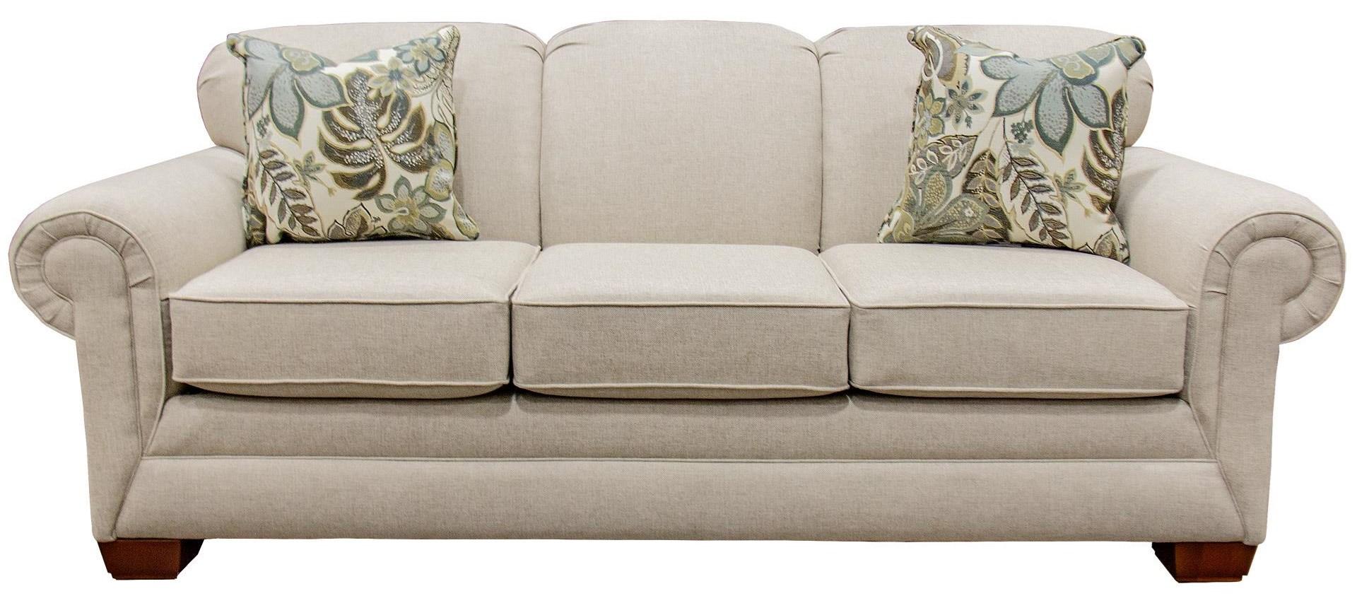 England Monroe Sofa   Item Number: 1435GRANDE LINENOCEAN ISLE SPA