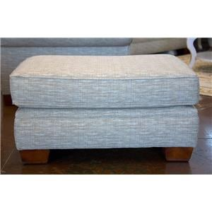 England Monroe Traditional Upholstered Ottoman
