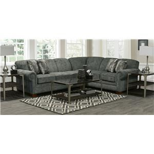 2 Piece LAF Sofa Sectional