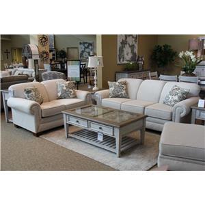 Grande Linen Sofa & Loveseat