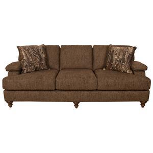 Sofa with Bun Feet