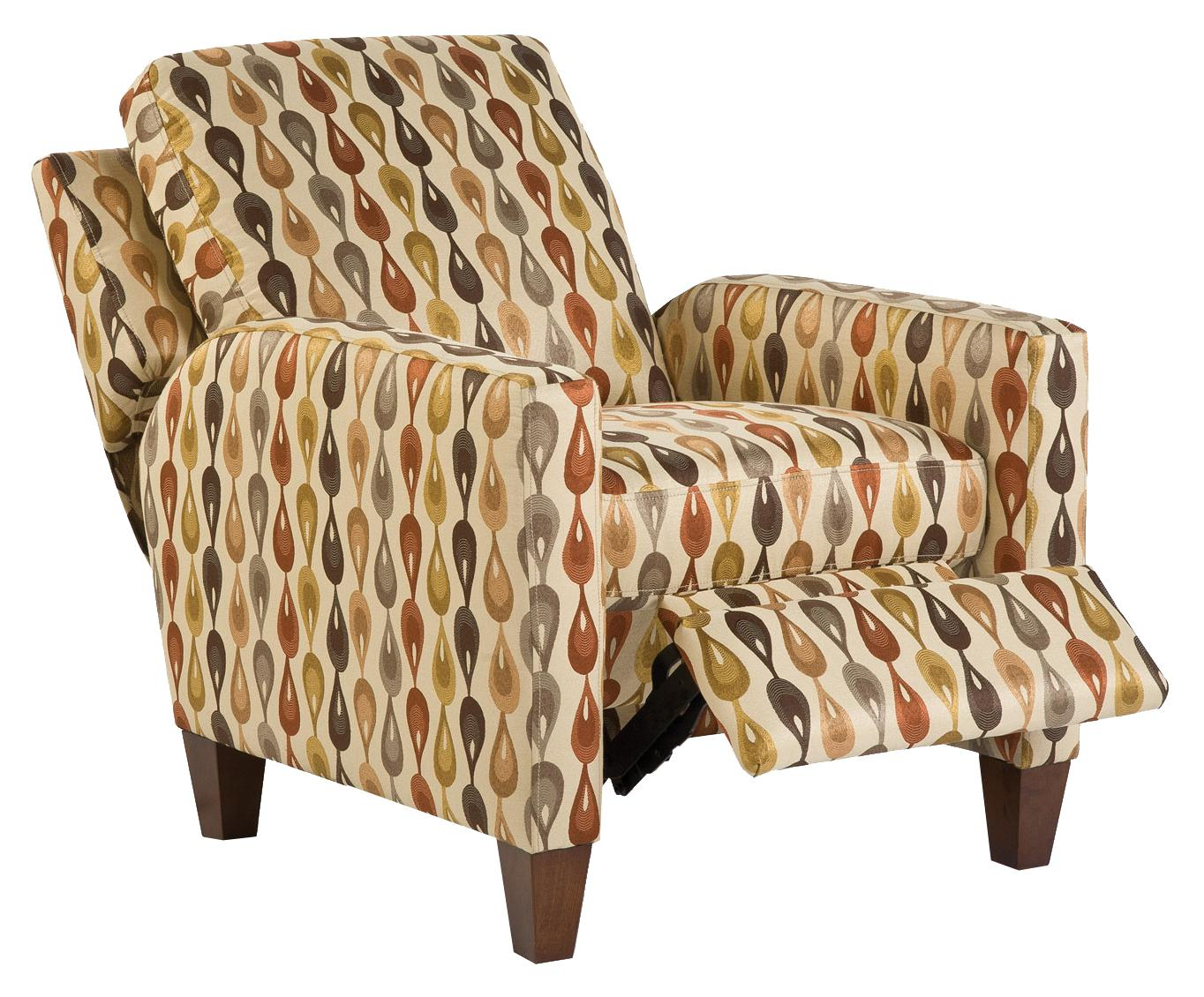England Murray Living Room Push Back Arm Chair Recliner - Item Number: 760-31